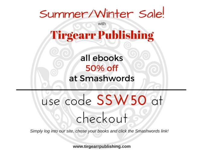 Summer-Winter sale with Tirgearr Publishing 2018